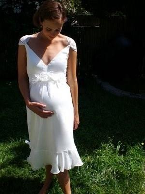 15 Vestidos para novias embarazadas || El Gran Día.com.py