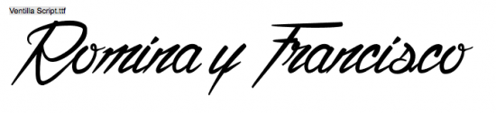 Ventilla Script