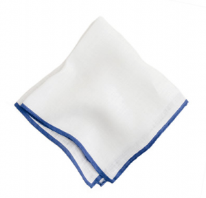 pañuelo de lino blanco j crew