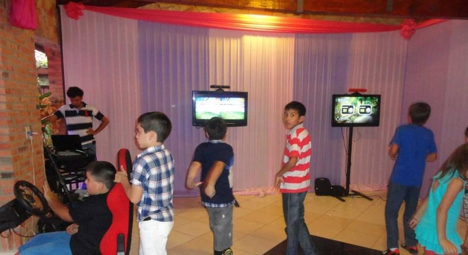 Alquiler de videojuegos y rincones temáticos para cumpleaños