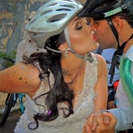 La Bici Boda de Richard y Amanda