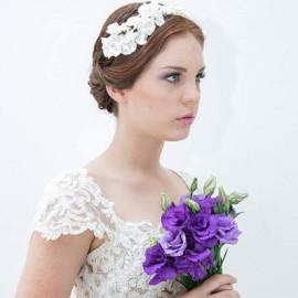 20 Tocados para novias de diseñadoras paraguayas