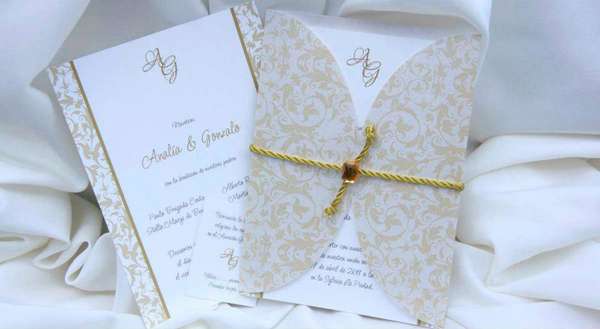 El beige un cl sico siempre vigente en las invitaciones - Cual es el color ocre ...