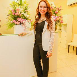 Jessica Miralles inauguró sus oficinas en Asunción