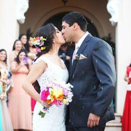 La boda de Gabi y Emilio en Areguá al atardecer