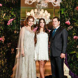 Color y elegancia en la fiesta de quince de María Paz Mencia