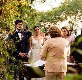 Mayara y Rodolfo: Amor y una boda en tiempos de Covid